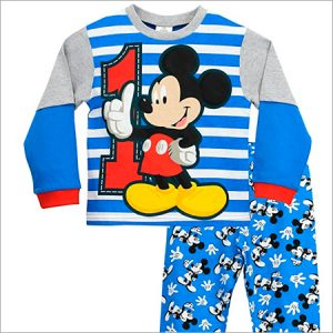 Pijamas de Mickey Mouse