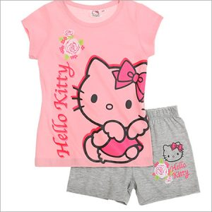 Pijamas de Hello Kitty