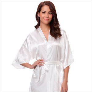 Pijamas de seda